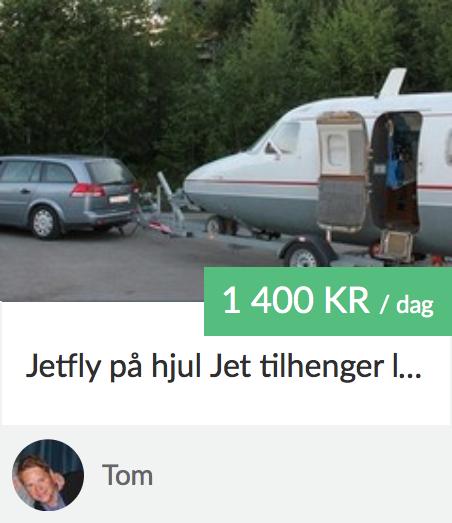 Jetfly på hjul