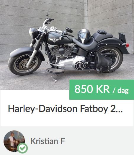 Kristians Harley-Davidson Fat Boy