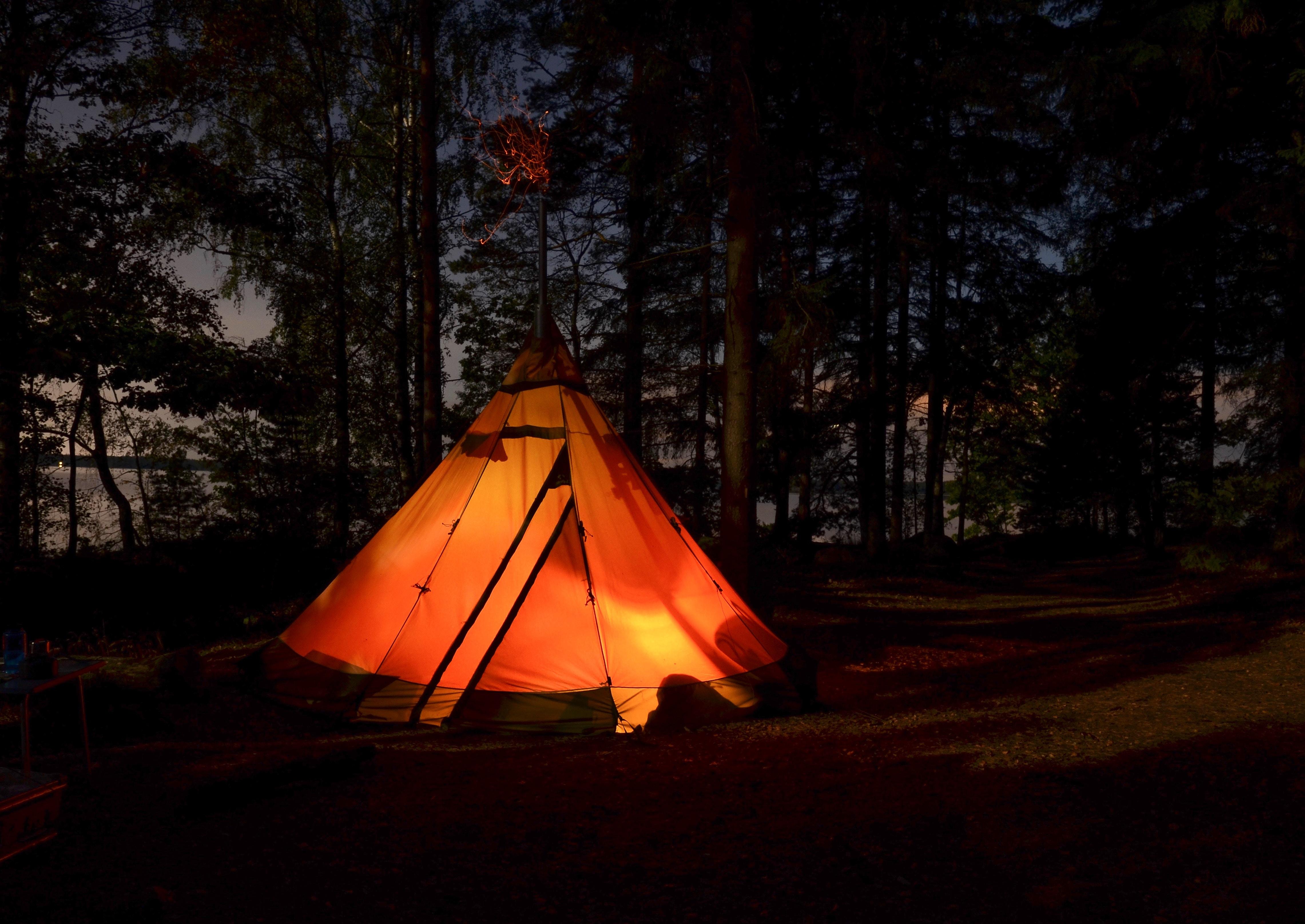 hva heter teltet urbefolkning bor i